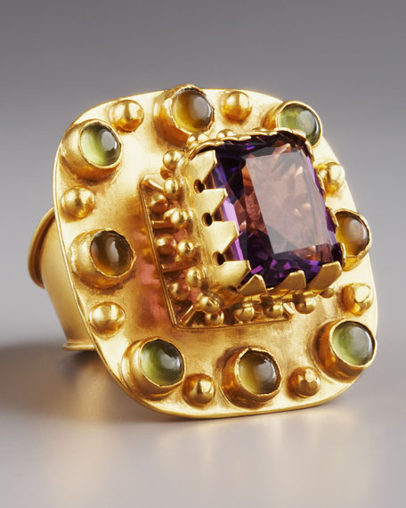 Multi-Stone Betrothal Ring