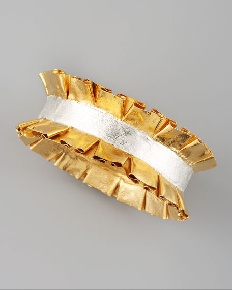 Marie Ruffled Bangle