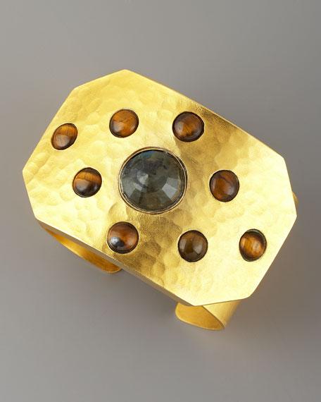 Rejoice Multi-Stone Cuff, Labradorite