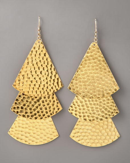 Tiered Drop Earrings