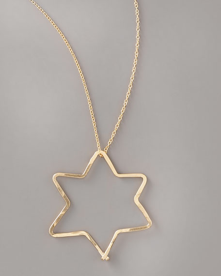 Star-of-David Pendant Necklace