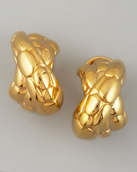 Kali Gold Overlap Earrings