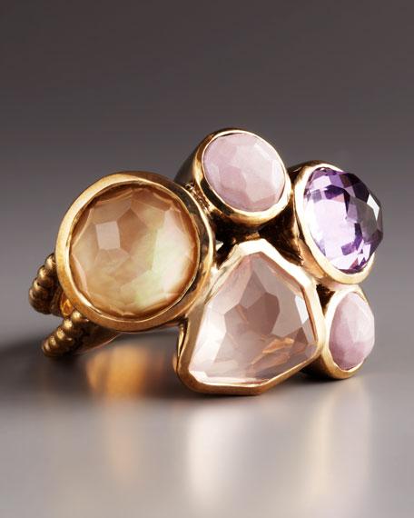 Multi-Stone Ring, Pink