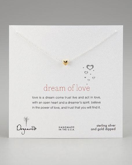 Dream of Love Pendant Necklace