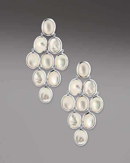 Mother-of-Pearl Cascade Earrings