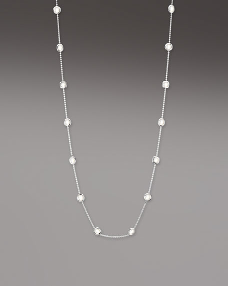 Scultura Station Necklace, Mother-of-Pearl
