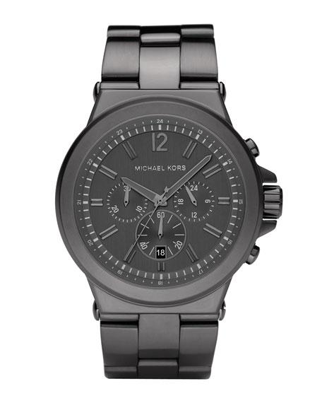 Men's Dylan Chronograph Watch, Gunmetal