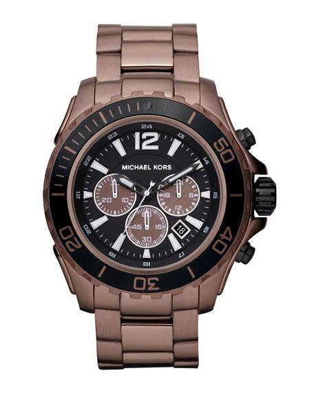 Drake Chronograph Watch, Espresso Titanium