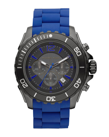 Drake Chronograph Watch, Blue