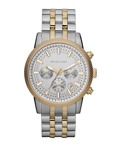 Men's Scout Chronograph Watch, Silver-Color/Golden