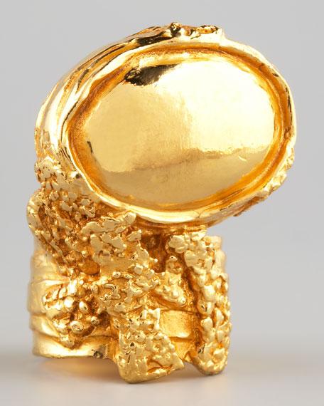 Golden Arty Ring