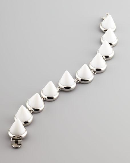 Cone Bracelet, White