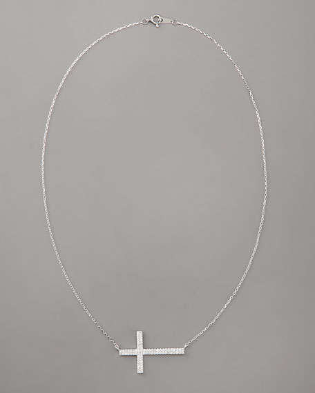 Integrated Cross Necklace