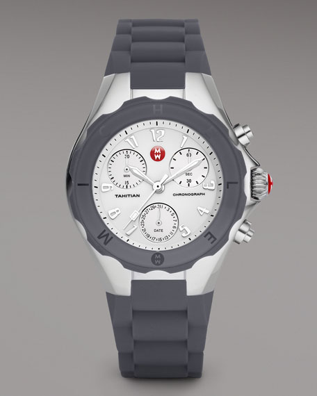 Tahitian Large Jelly Bean Chronograph, Gray