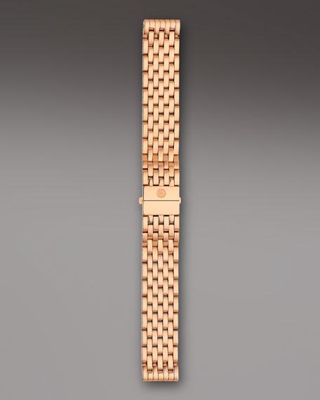 18mm Deco Bracelet Strap, Rose Gold
