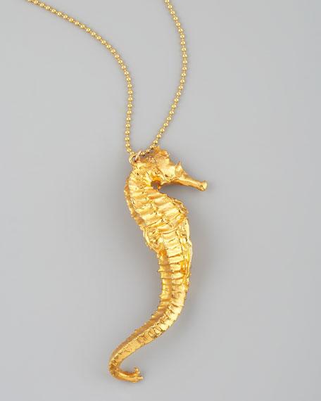 Devon leigh gold seahorse necklace aloadofball Gallery