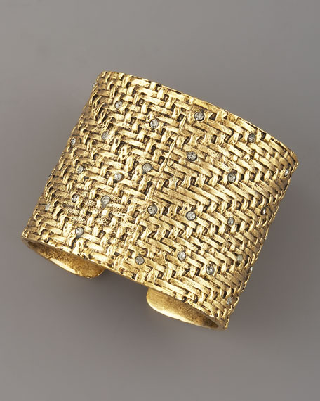 India Bling Cuff