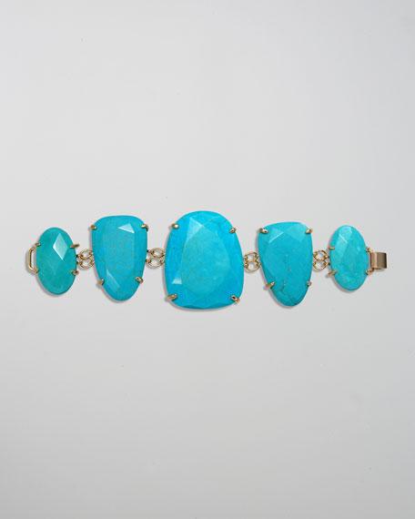 Petra Bracelet, Turquoise