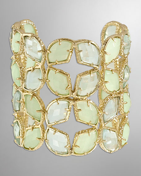 Paley Cuff, Light Green