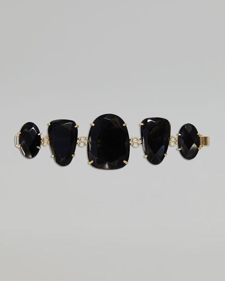 Petra Bracelet, Black Onyx