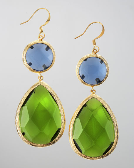 Colorblock Dangle Earrings (CUSP Most Loved!)