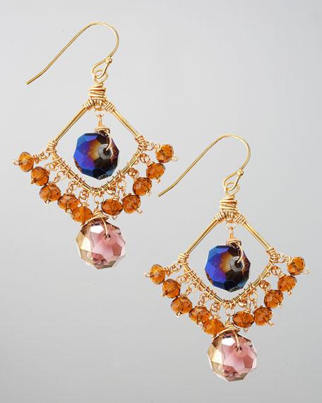 Nicki Diamond-Shape Beaded Earrings (CUSP Top Seller!)