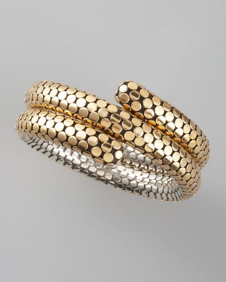 Dot Double-Coil Bracelet