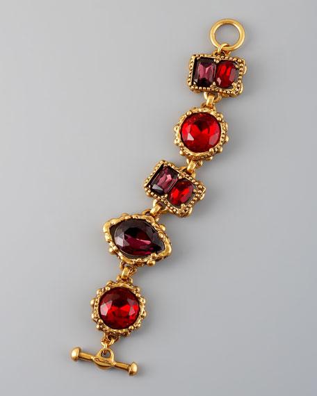 Crystal Station Bracelet