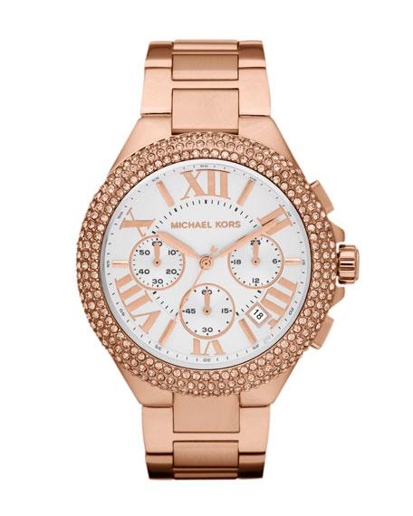 Bella Rose-Golden Glitz Watch