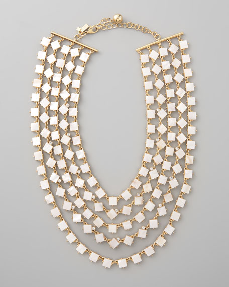 pearly cove bib necklace