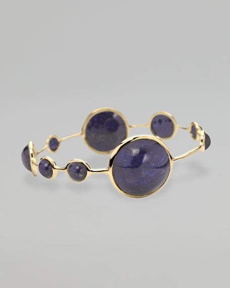 Nine-Stone Lapis Bracelet