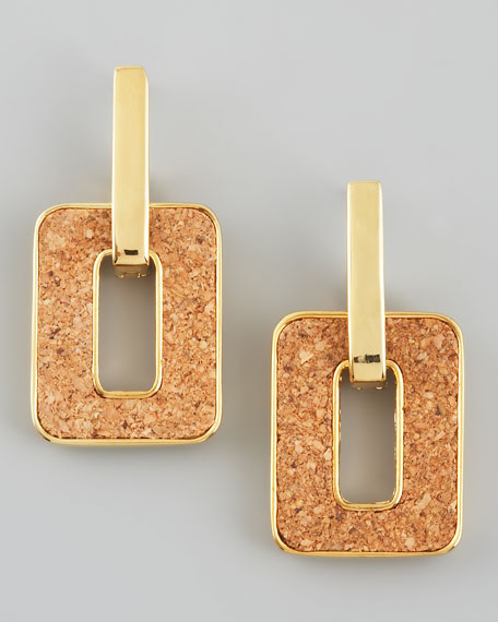 cork city door-knocker earrings