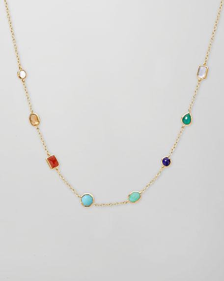 Mini Gelato Necklace, Riviera Sky