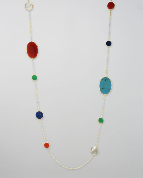 Rock Candy Necklace, Riviera Sky