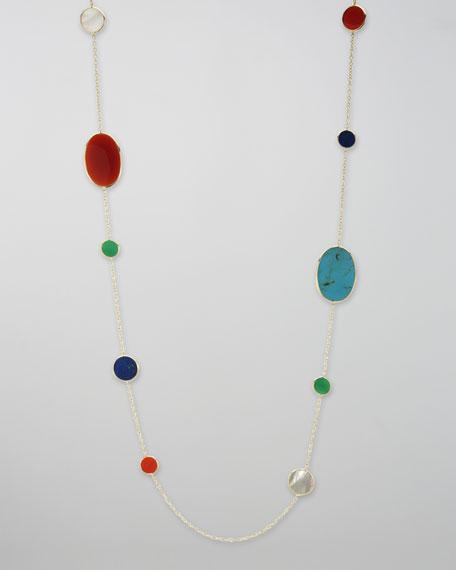 Rock Candy Necklace, Riviera Sky