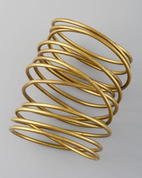 Twisted Brass Bracelet
