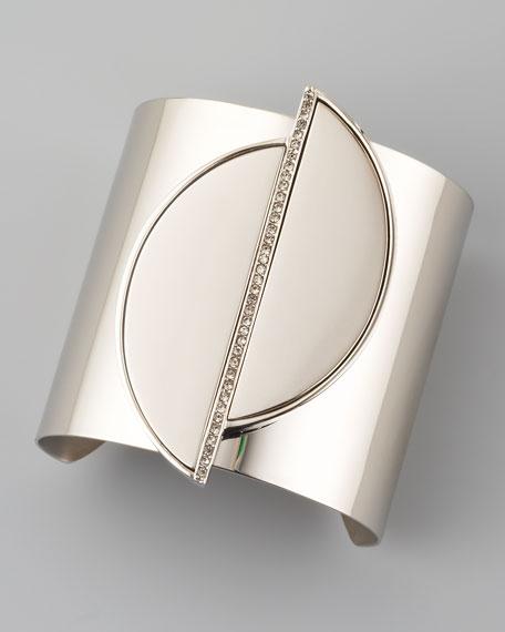 Split-Circle Cuff, Silver