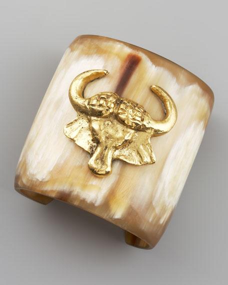Mbogo Light Horn Cuff