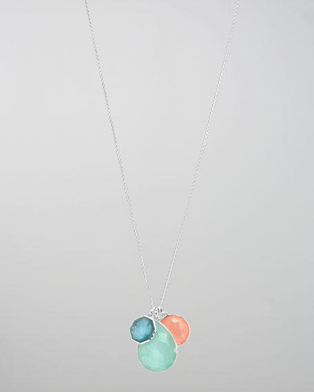 Three-Stone Pendant Necklace, Breeze