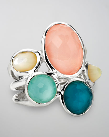 Wonderland Five-Stone Ring, Breeze