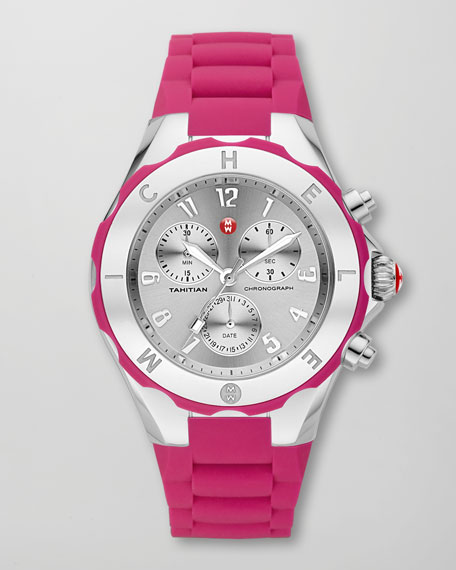 Tahitian Large Jelly Bean Chronograph, Pink
