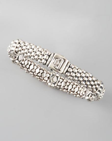 Caviar Rope-Station Bracelet
