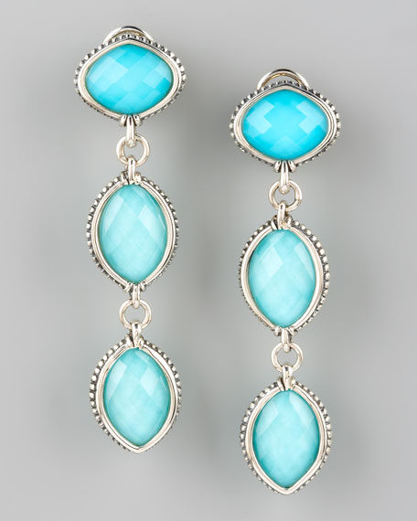Venus Double-Drop Earrings