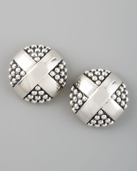 X-Stud Earrings