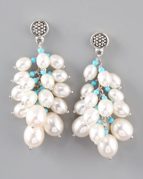 Luna Pearl Earrings