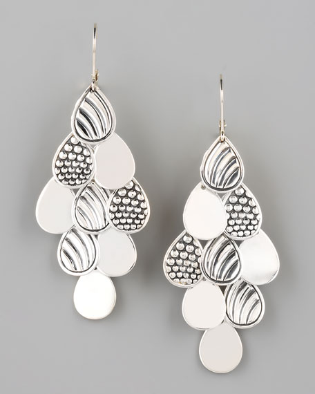 Multi-Surface Cascade Earrings