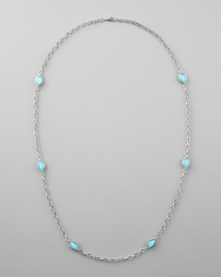 Venus Turquoise-Station Necklace