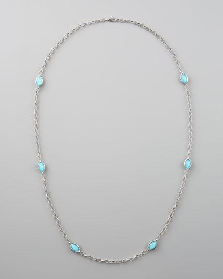 Venus Turquoise-Station Necklace