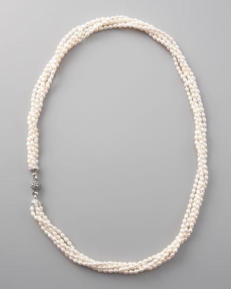 Luna Five-Strand Pearl Necklace