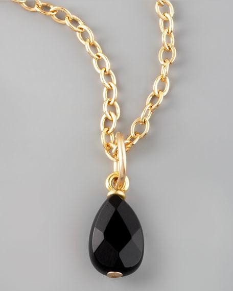 Black Onyx Charm